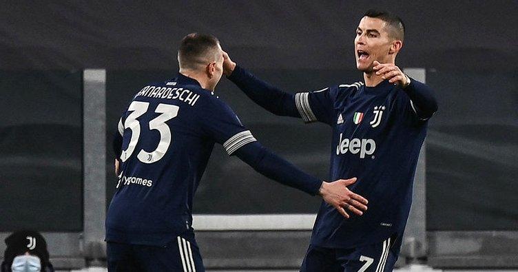Juventus Sassuolo'yu 3 golle geçti