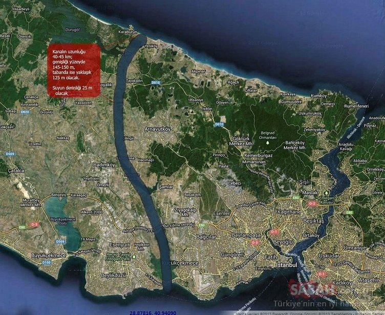 İşte Kanal İstanbul projesine ilişkin tüm detaylar!