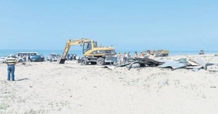 Kaçak yapılar yıkılıyor yeşil Akdeniz yapılıyor