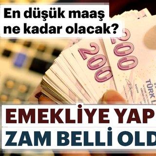 Son Dakika: Emekliye zam müjdesi! En düşük emekli maaşı ne kadar olacak?