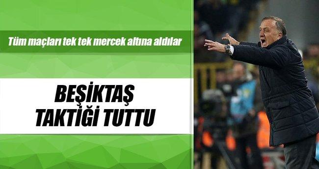 Beşiktaş taktiği tuttu