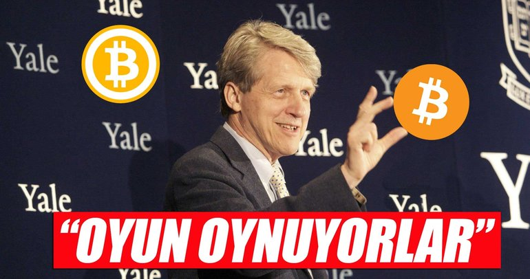 Nobelli ekonomistten Bitcoin yorumu: Eğleniyorlar