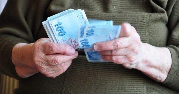 Emeklinin maaş hesabı tamam