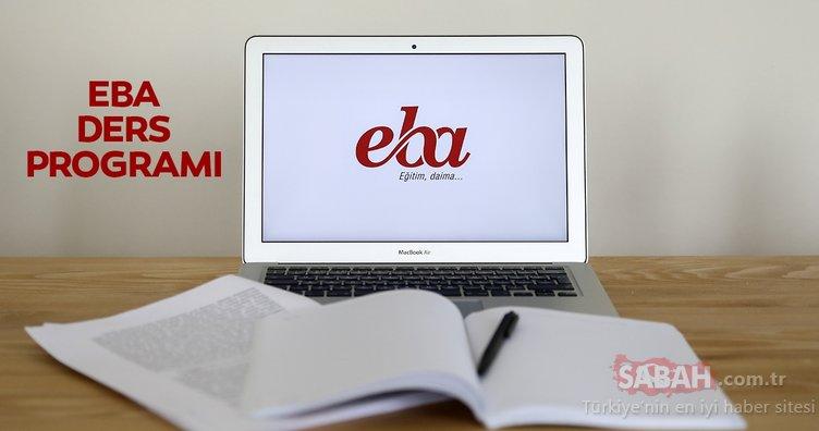 EBA ders programı yayınlandı! Uzaktan eğitim için EBA ilkokul - ortaokul – lise ders programları ve ders saatleri