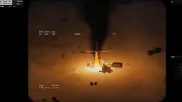 Suudi Arabistan 'Libya'daki Türk üssünün vurulma anı' diye bilgisayar oyunu videosu yayınladı | Video