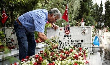 Edirnekapı Şehitliği'nde Buruk Babalar Günü