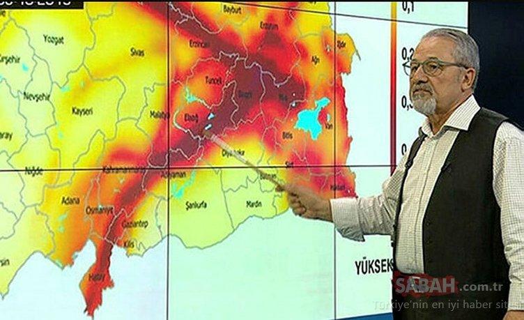 Son dakika: Prof. Dr. Naci Görür'den korkutan açıklama! Bu fay 7.4 büyüklüğüne varabilecek deprem üretebilecek kapasitede
