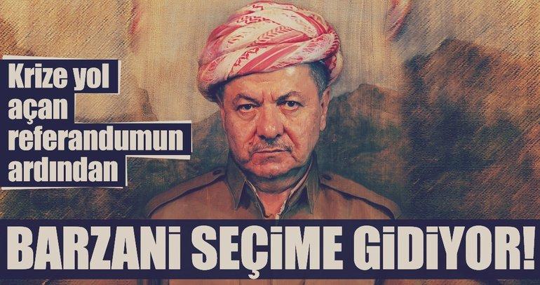 Son Dakika: Barzani seçime gidiyor