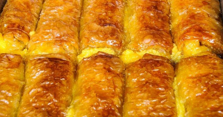 Baklavalık yufkadan börek tarifi... Baklavalık yufkadan börek nasıl yapılır?