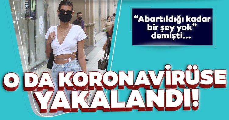 """Parti sever Buse İskenderoğlu koronavirüse yakalandı! """"Abartıldığı kadar bir şey yok"""" demişti..."""