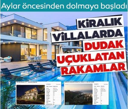 2 milyona kiralık villa!