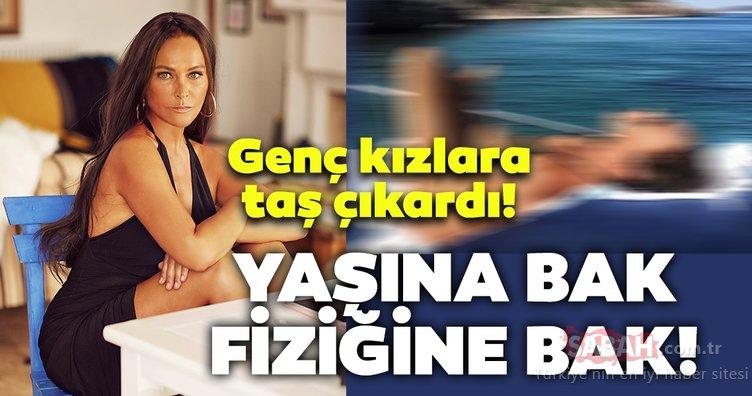 Hülya Avşar genç kızlara taş çıkardı! Hülya Avşar'ın bikinili pozu sosyal medyayı salladı...