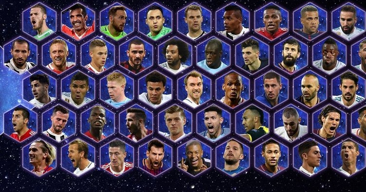UEFA yılın 11'i adaylarını açıkladı…