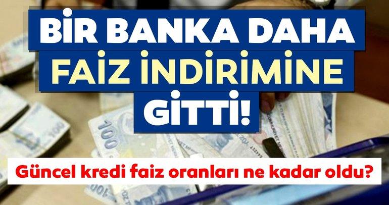 Son dakika haberi! Güncel kredi faiz oranları ne kadar? Vakıfbank, Halkbank, Ziraat Bankası ihtiyaç - taşıt - konut kredisi faiz oranları burada