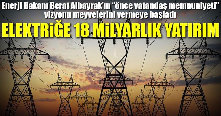 Elektrik dağıtımına 18 milyarlık yatırım