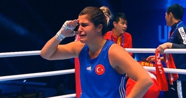 Busenaz Sürmeneli Dünya Kadınlar Boks Şampiyonası 69