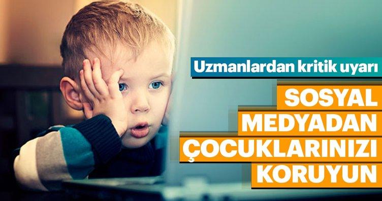 Sosyal medyadan çocuklarınızı koruyun