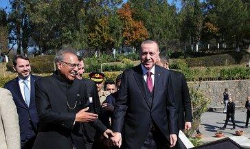 Son dakika: Başkan Erdoğan, Pakistan Cumhurbaşkanı Arif Alvi ile telefonda görüştü