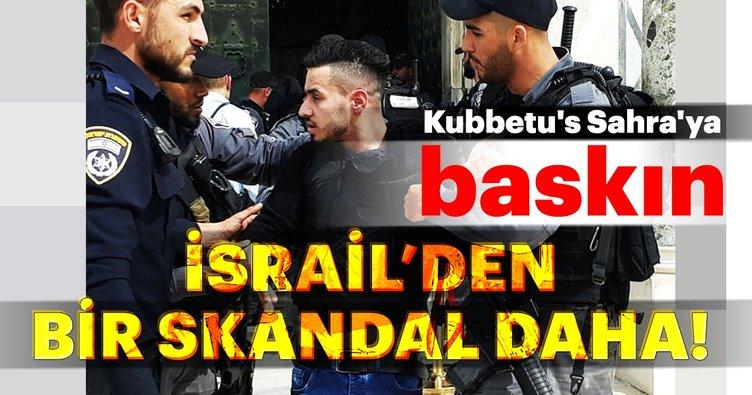 Son Dakika:İsrail polisinden utanç verici baskın!
