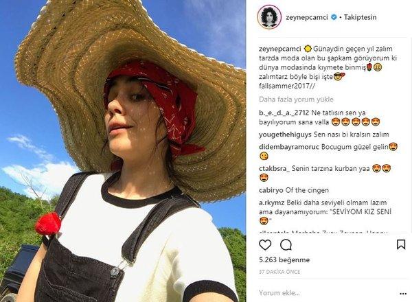 Ünlülerin Instagram paylaşımları (15.03.2018)