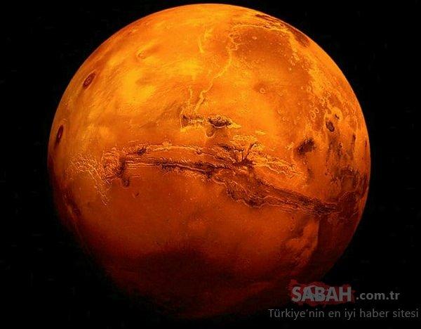 Mars'ta fosil bulunduğu iddiası ortalığı karıştırdı!