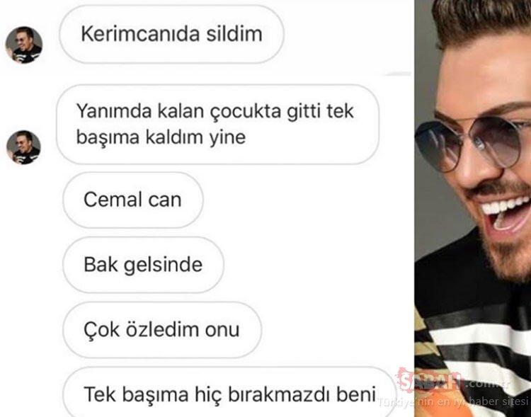 Genç yaşta hayata veda eden fenomen Caner Çalışır son yolculuğuna uğurlandı! Caner Çalışır ölümünden 3 gün önce Kerimcan Durmaz'a böyle sitem etmiş...