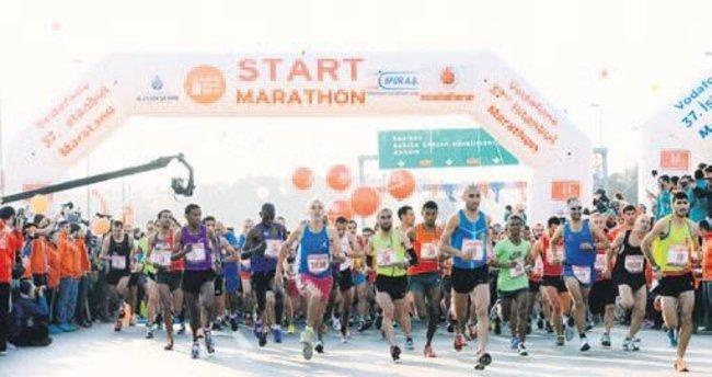 Maratona tabancasız start