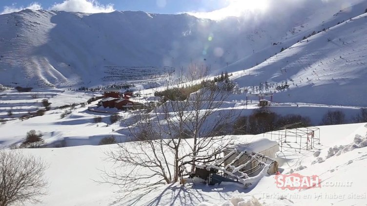 Bozdağ Kayak Merkezi, 'Çığ Projesi' ile ayağa kaldırılacak
