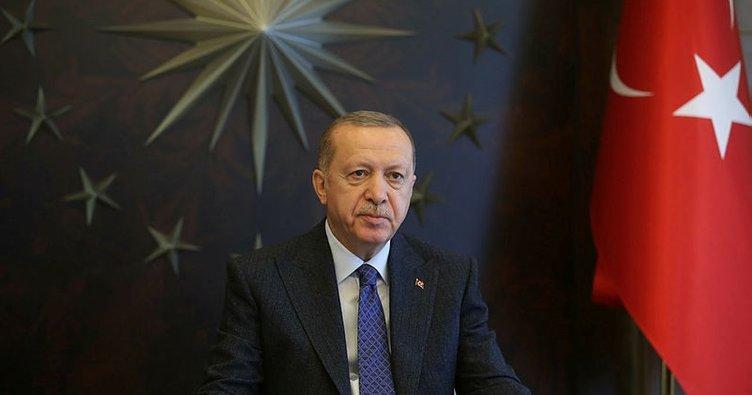 Başkan Erdoğan Özbekistan Cumhurbaşkanı ile görüştü