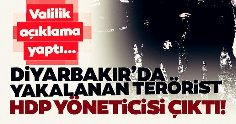 HDP ile PKK iş birliği gün yüzüne çıktı! Diyarbakır'da yakalan teröristlerden 2'si de HDP'de yöneticiymiş!