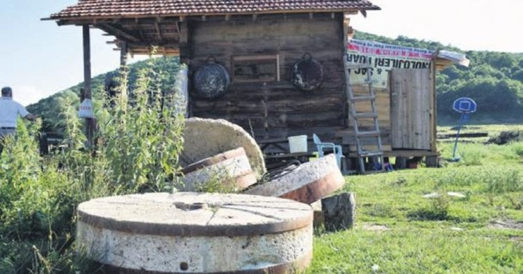 350 yıllık değirmeni restore etti