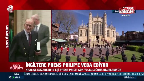İngiltere, Prens Philip'e veda etti | Video