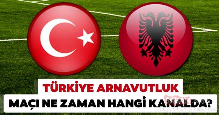 Türkiye Arnavutluk maçı ne zaman? Avrupa Şampiyonası Elemeleri Türkiye Arnavutluk maçı hangi kanalda ve saat kaçta oynanacak?