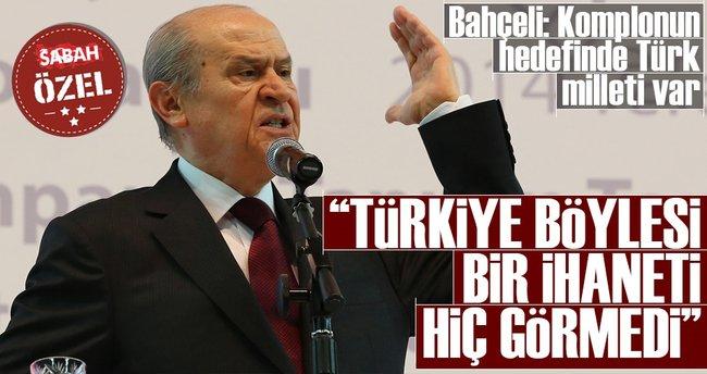 MHP lideri Devlet Bahçeli: 16 Nisan'da evet, düşmanları tir tir titretecek