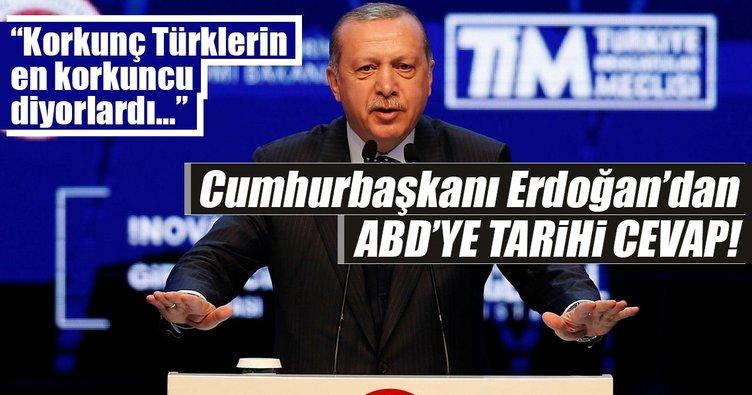 Cumhurbakan Erdoandan ABDye Tarihi Cevaplar