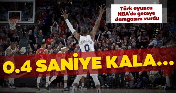 Furkan Korkmaz'dan maç kazandıran son saniye üçlüğü