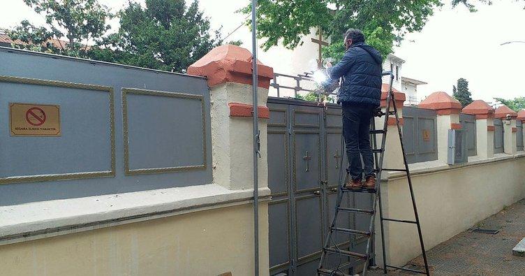 Üsküdar Kuzguncuk'taki kilise saldırısı için soruşturma başlatıldı