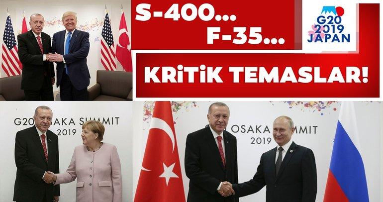 Başkan Erdoğandan G-20 Zirvesinde yoğun diplomasi trafiği! Erdoğan- Trump görüşmesi...