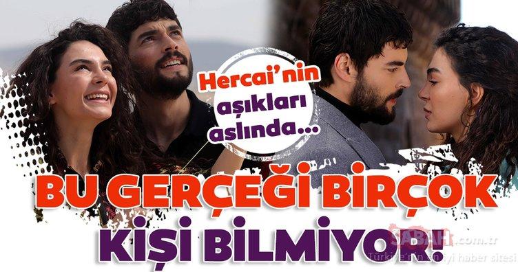 Hercai'nin aşıkları Miran ile Reyyan… Birçok kişi bilmiyor Akın Akınözü ve Ebru Şahin aslında…