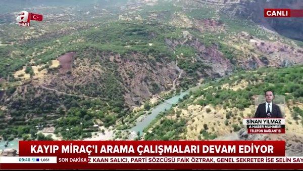 Son Dakika: Diyarbakır'da kaybolan Miraç'ı arama çalışmaları 11. gününde