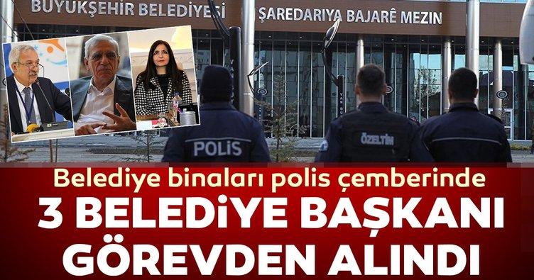 Son dakika haberi | Diyarbakır, Mardin ve Van Büyükşehir Belediye Başkanları görevden alındı! Yerlerine...