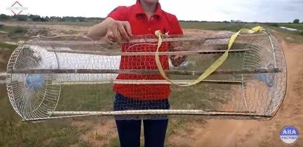 İlginç balık tutma yöntemi