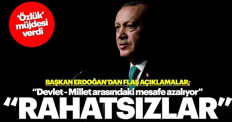 Başkan Erdoğan'dan önemli açıklamalar: 8 değil 24 saat halkla iç içe mesai
