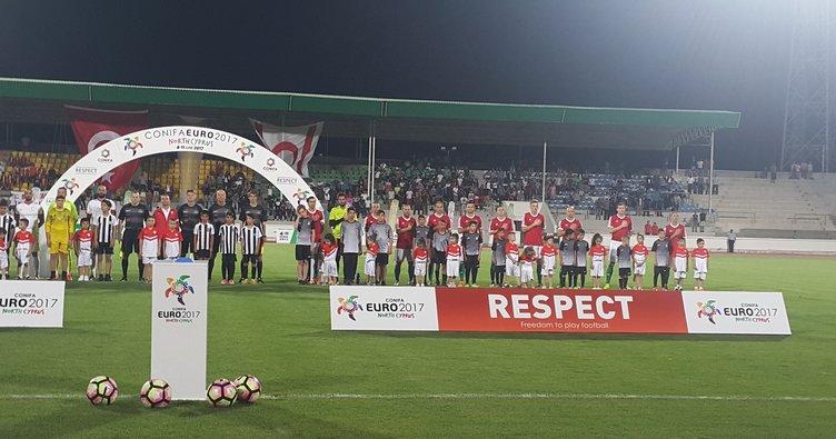 Conifa Euro 2017 North Cyprus'ta açılış yapıldı