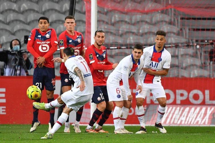 Burak Yılmaz'dan Lille - PSG maçına damga vuran hareket!