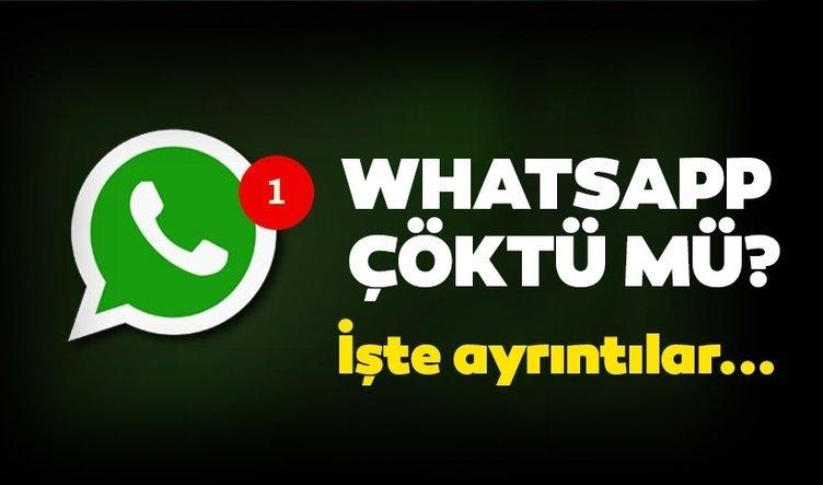 Son dakika haberi: Whatsapp çöktü mü? 17 Temmuz internette sorun mu var? Whatsapp açılmıyor, mesajlar geç gidiyor sorunu!