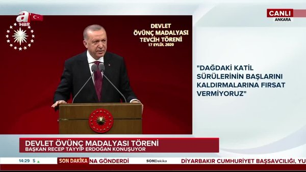 Son dakika: Cumhurbaşkanı Erdoğan'dan Doğu Akdeniz mesajı!