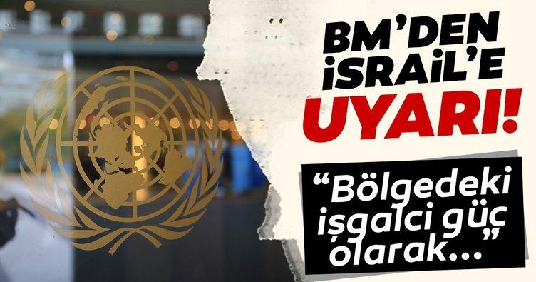BM'den İsrail'e tepki: Batı Şeria'daki yerleşimler barış sürecini baltalıyor