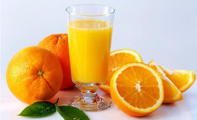 Portakal kilo vermeye de yardımcı oluyor