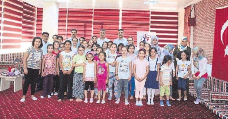 Elbistan'da yaz okulu